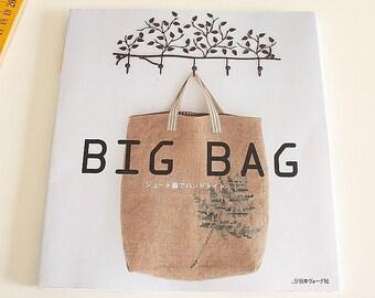 Japanese craft book (Handmade linen bags)