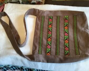 Romantic hobo bag