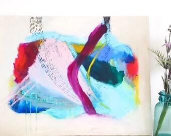 Original Art  mixed media Abstract Contemporary Abstract Painting Wall Art room Decor room