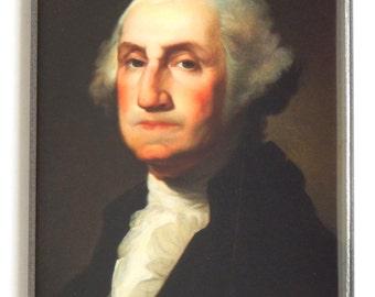 President George Washington Portrait Fridge Magnet