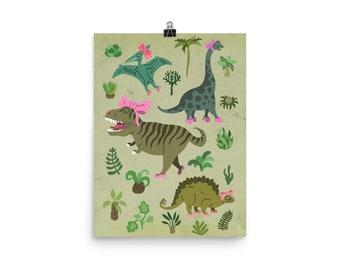 Print: Dinosaurier