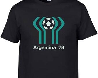 mexico 70 86 argentina 78 world cup mascot logo pique football  soccer retro vintage brazil pele maradona mascot t shirt