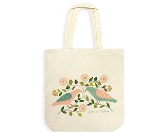 Bridesmaid Tote Bag,Personalized Wedding Tote Bag,Bride and Groom tote bag,Wedding Favor Ideas,Couples tote bag,Bride Tribe Tote