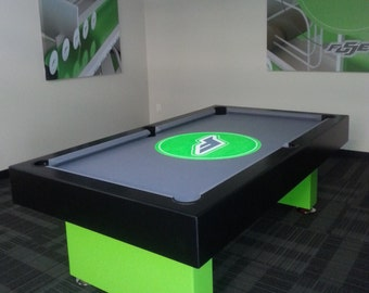 Custom made 7Ft Pool Table with Fuse Logo !
