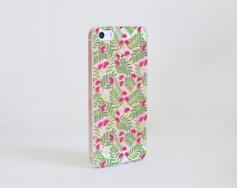 Mimosa iPhone Case / Soft TPU Phone Case / Ready to Ship / iPhone 5/5s/SE - iPhone 6/6s - iPhone 6/6s Plus - iPhone 7