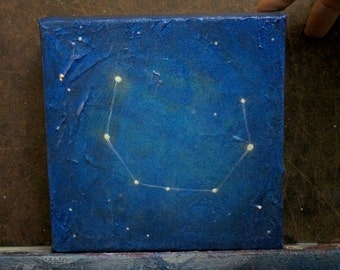 Original Painting - Corona Borealis (The Crown) Constellation