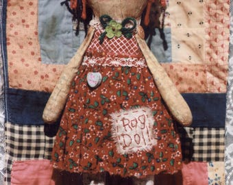 Primitive PATTERN The Papered Rag Doll
