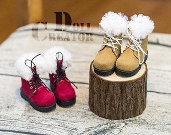 D.C: Plush snow boots MSD 1/4 size shoes