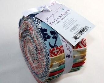 2.5 inch BOTANIQUE Design Roll strips fabric by Joel Dewberry