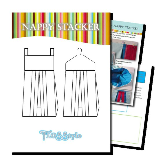 NAPPY STACKER PDF Pattern 2 designs with easy instructions