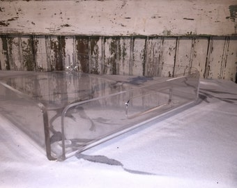 Lucite Tray Mid Century Modern
