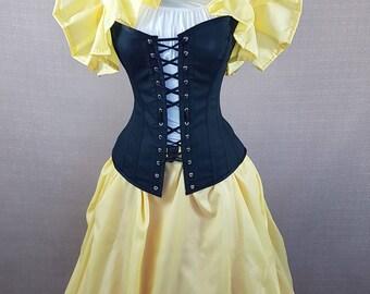 Yellow Snow White, Yellow Brick Road, Wizard Of Oz Tie On Shrug