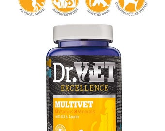 Multivet-vitamin and mineral supplement in dogs and  cats nutrition