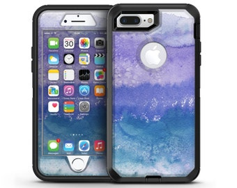 Purple 48 Absorbed Watercolor Texture - OtterBox Case Skin-Kit for the iPhone, Galaxy & More