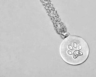 Dog Life in CLE Logo Handstamped Necklace
