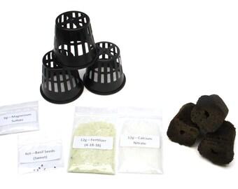 Hydroponics Starting Kit - Mini