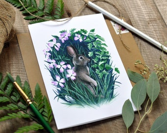 Set of 5 Cards - Flora & Fauna Series