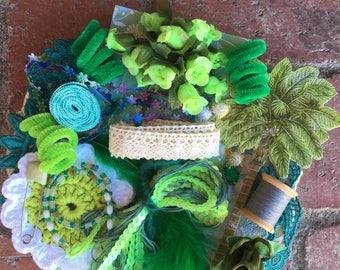 Green--- Inspiration Kit ---