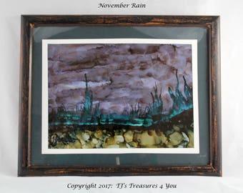 November Rain by Twyla Jensen