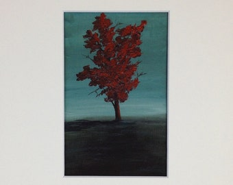 Red Tree - Print
