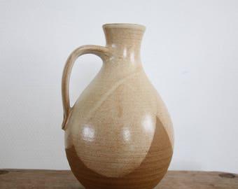 Handmade retro ceramic vase/pitcher