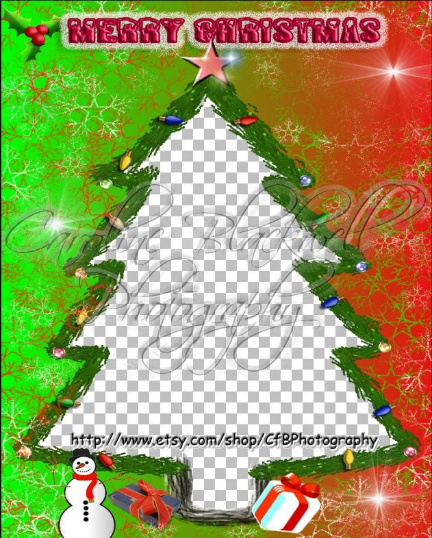 Fun Christmas digital frames Png format from CfBPhotography on Etsy ...