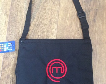 Black Adults Masterchef Apron...... Can be Personalised