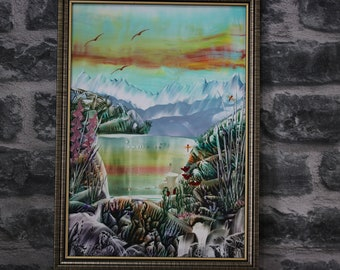 Original Encaustic Art Painting