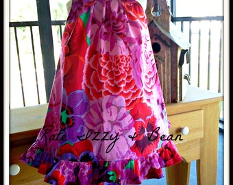 Beautiful Floral Summer Toddler Dress.  Size 3T.