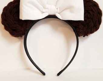 Princess Leia Minnie Mouse Ears