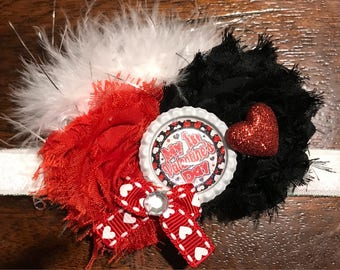 Valentines Day headband