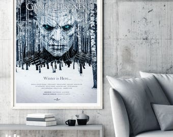 Game Of Thrones Poster TV Art Print Wall