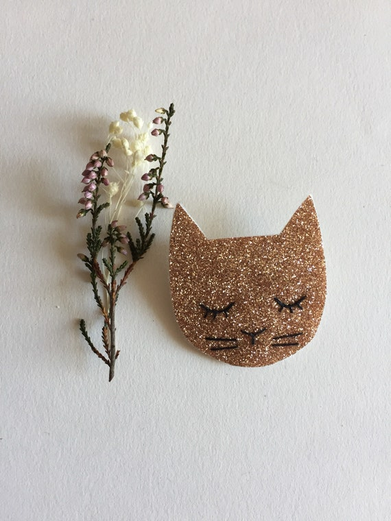 Simone - Handmade - Cactus - the Rochelle tender cat brooch