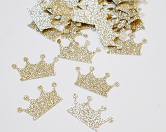 Crown Confetti - Princess Birthday Party Confetti - Confetti - First Birthday Decorations - Baby Shower Decorations