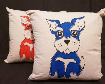 Schnauzer Cushion
