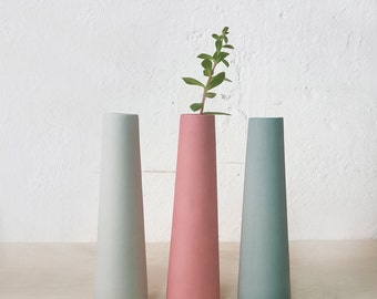 Flower vase, wedding vases, ceramic vase, single flower vase, wedding table centerpiece, dining table decorations, wedding table decorations
