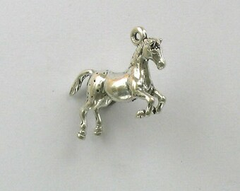 Sterling Silver 3-D Appaloosa Horse Charm