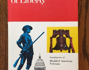 Landmarks of Liberty Book Vintage vintage children's book US history