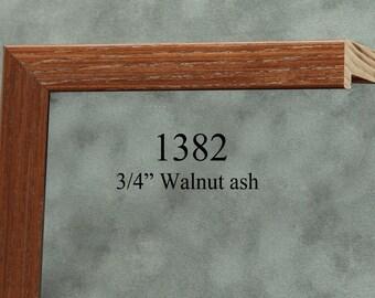 Walnut Frame, Ash Wood Picture Frame, Handmade Photo Frame, Home Decor size3x5,4x6,5x5,5x7,8x8,8x10,9x12,10x10,11x14,12x12,12x16,14x18,16x20