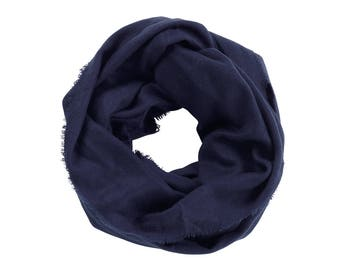 Infinity Scarf - Monogram Scarf - Fall Scarf - Winter Scarf - Gifts For Her