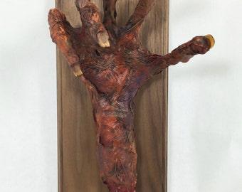 Corpsed Hand Plaque