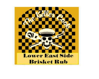 The Killer Cook's Lower East Side Brisket Rub