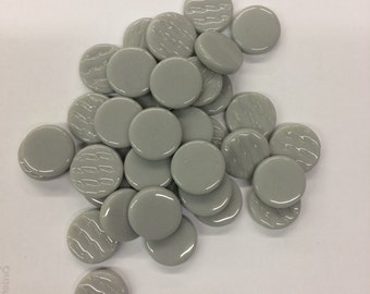Gray 18mm Penny Round tiles-75g//Round Tiles//discount mosaic tile