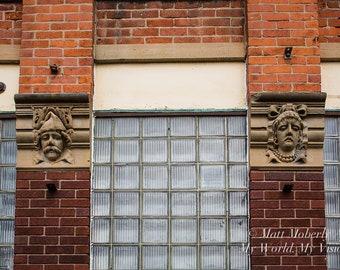 Fine Art Photography Print Glass Windows Art Deco