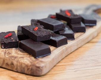 CHOCOLove: CRU, BIO & ARTISANAL, aux Super-Aliments