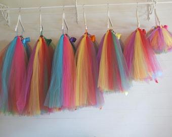 Rainbow tutu, lgbt, girls tutu skirt, flower girl tutu, trolls, unicorn tutu, bridesmaid tutu, baby tutu, tulle skirt, flower girl dress