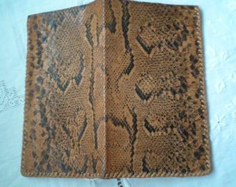 Genuine  snakeskin  wallet