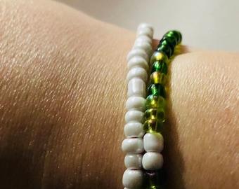 Be stronger than the storm Morse code wrap bracelet (61)