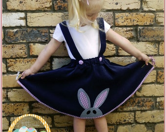 Girls skirt sewing pattern Topsy Twirly Skirt sizes 1 to 12 years by Felicity Patterns pdf sewing pattern