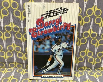Darryl Strawberry by Walt Saxon paperback book vintage baseball biography mets